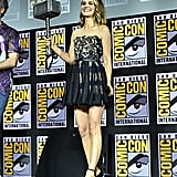 Natalie Portman Blond Highlights at Comic-Con 2019