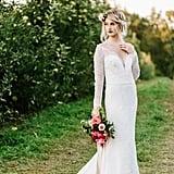 Gryffindor-Inspired Wedding Gown