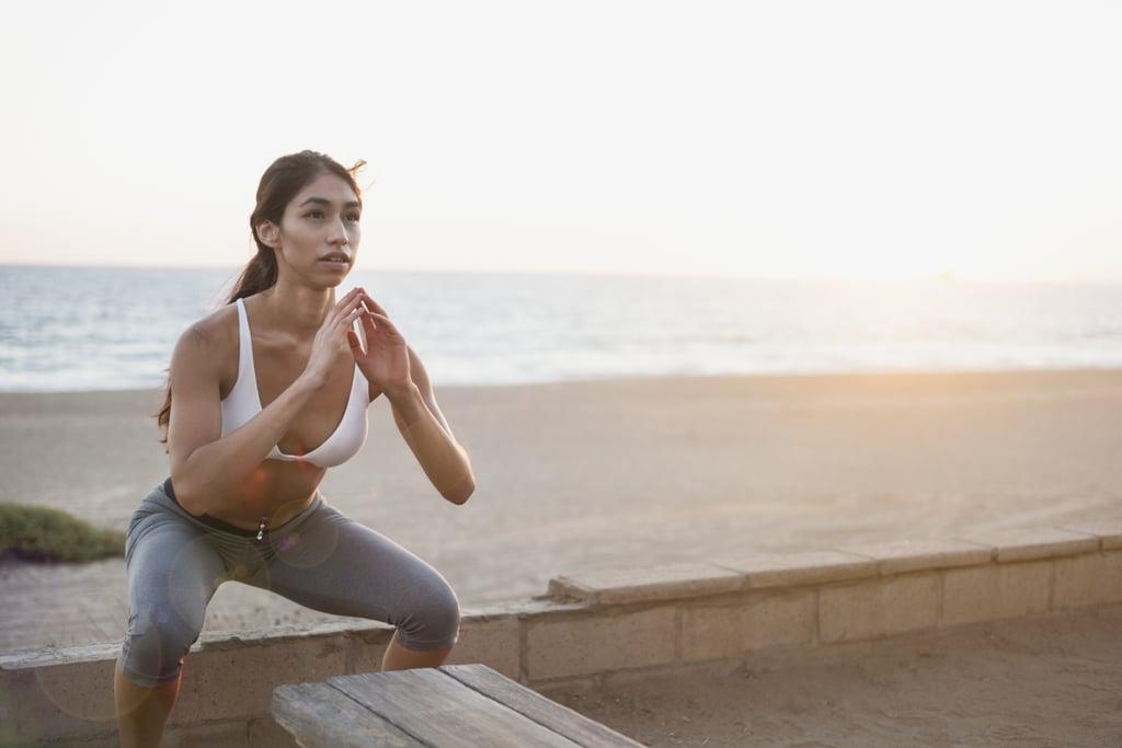 تمرين بدون معدات لمدة 15 دقيقة لعضلات المعدة والأرداف