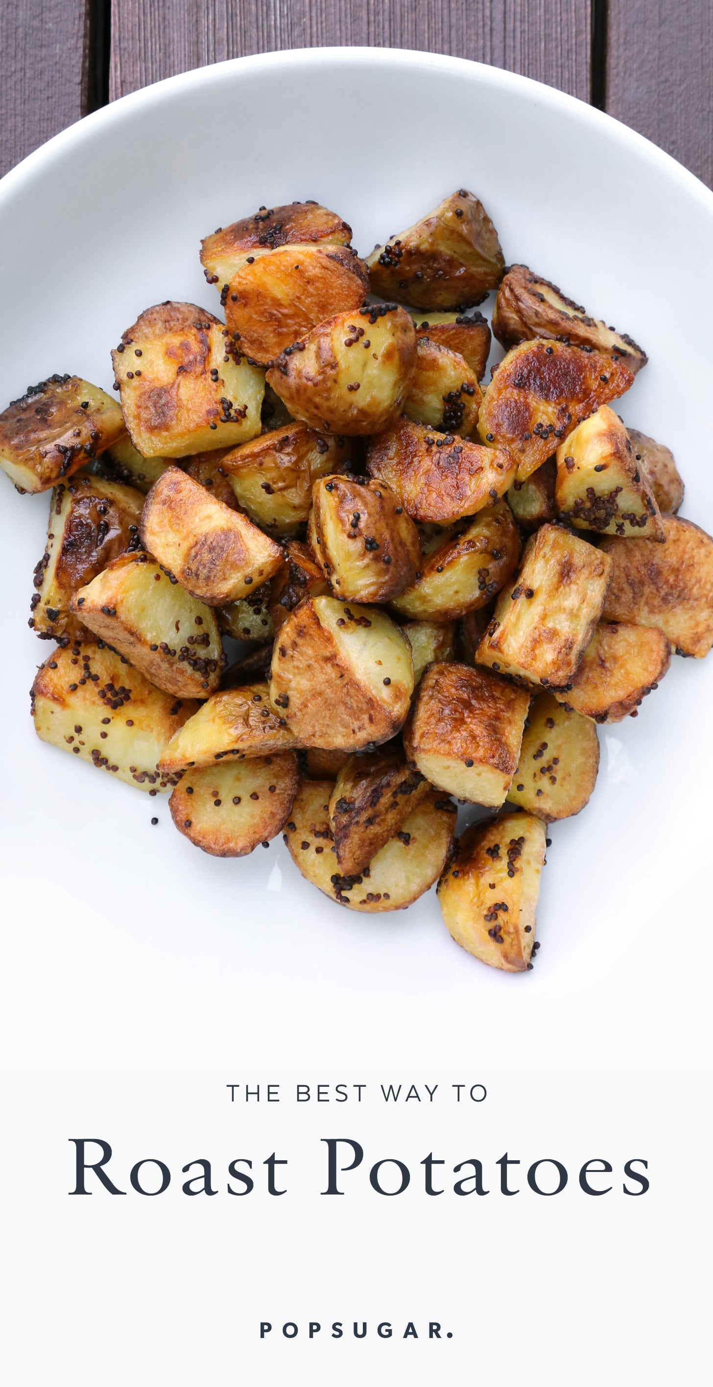 Mustard roasted potatoes recipe popsugar food forumfinder Choice Image