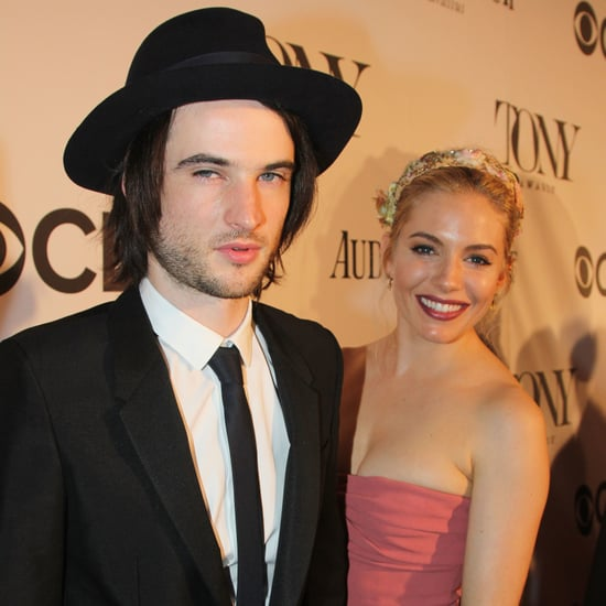 Sienna Miller and Tom Sturridge at the Tony Awards 2013