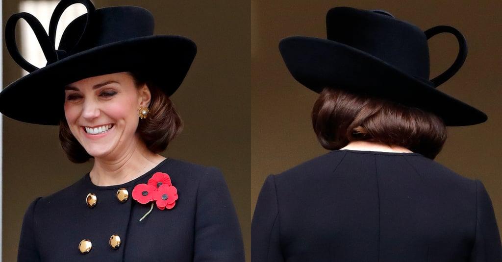 Kate Middleton's Faux Bob, 2017