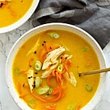 Turmeric Ginger Turkey and Carrot Soup