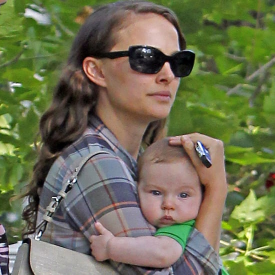 Natalie Portman Carrying Baby Aleph Millepied in LA Pictures