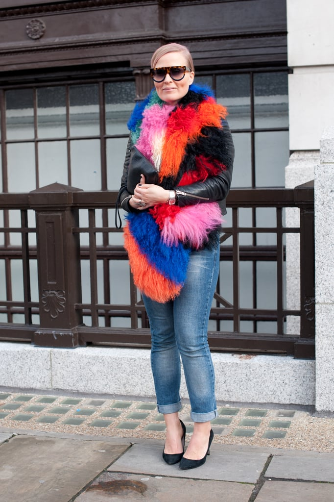 With a furry, rainbow-colored layer, do you really need anything else?