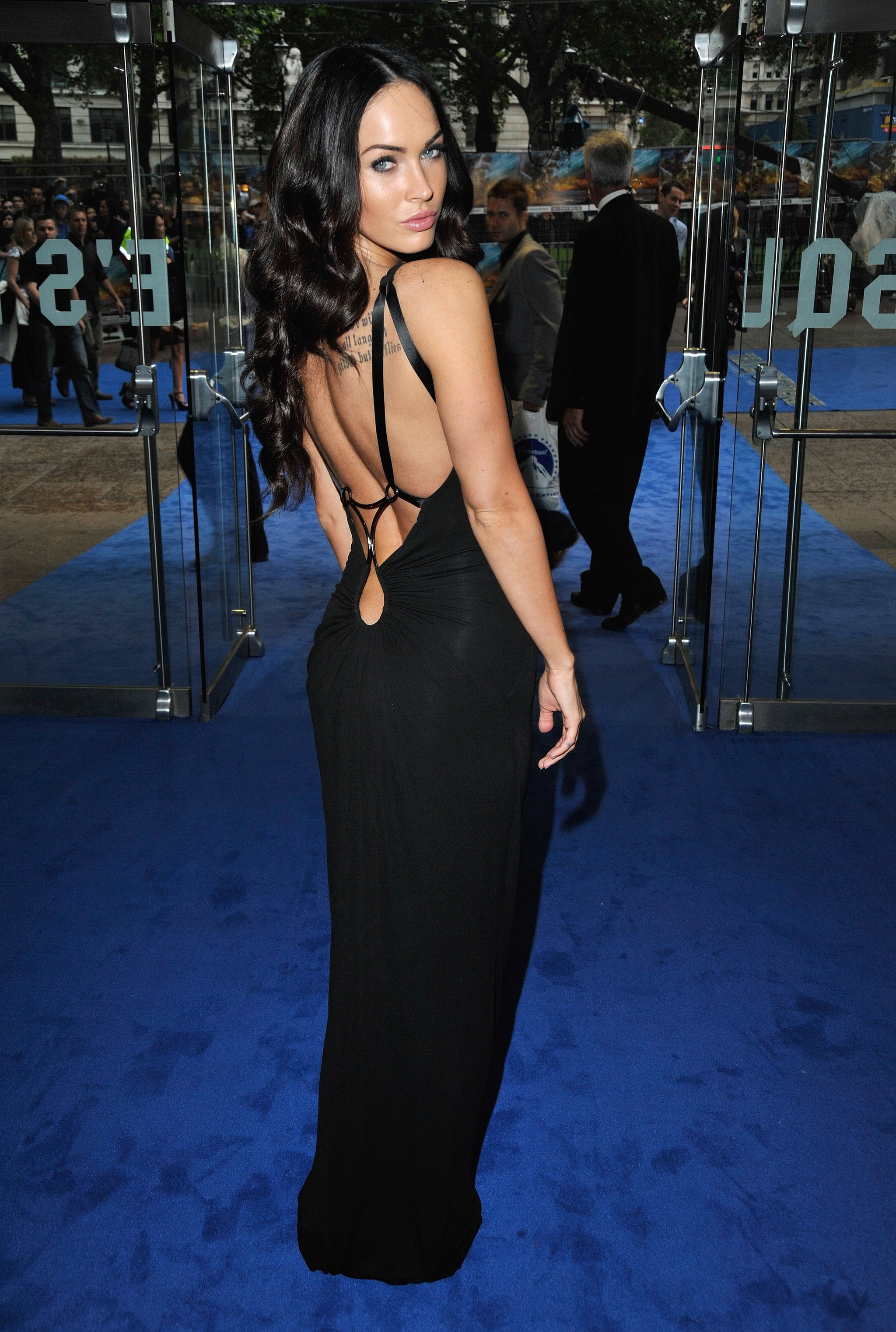 Megan Fox in Black KaufmanFranco at the 2009 Transformers: Revenge of the Fallen UK Premiere