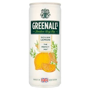 Greenall's Sicilian Lemon mixer