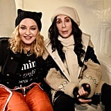 Pictured: Madonna and Cher