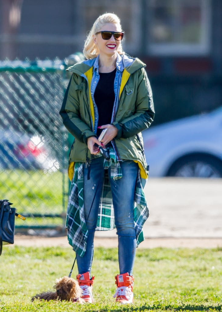 Gwen Stefani Can't Stop Smiling During Her Outing in LA