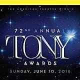 The 2018 Tony Awards Playbill