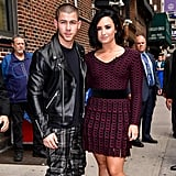 Nick Jonas and Demi Lovato in NYC June 2016