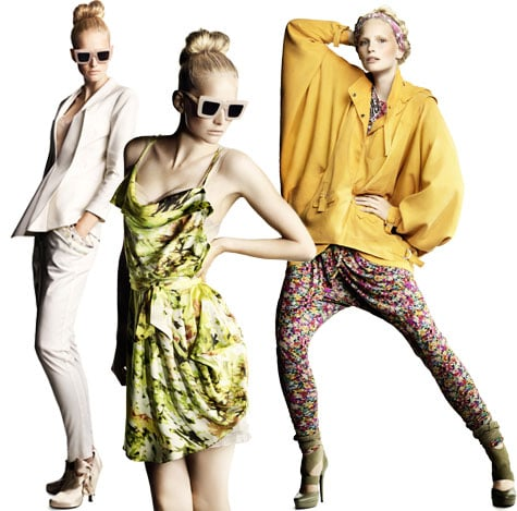 H&M Spring/Summer 2010 Look Book