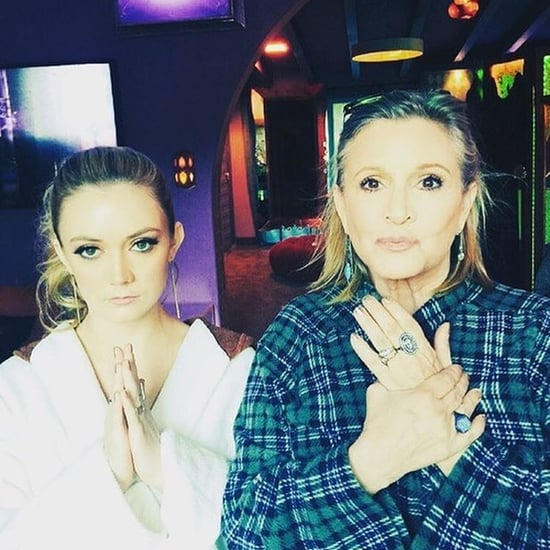 Billie Lourd Tribute to Carrie Fisher Star Wars Day May 2019