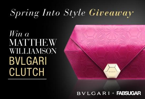 FabSugar Matthew Williamson For Bulgari Clutch Giveaway