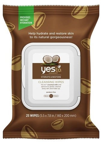 Yes to Coconut Face & Hand Cleansing Wipes