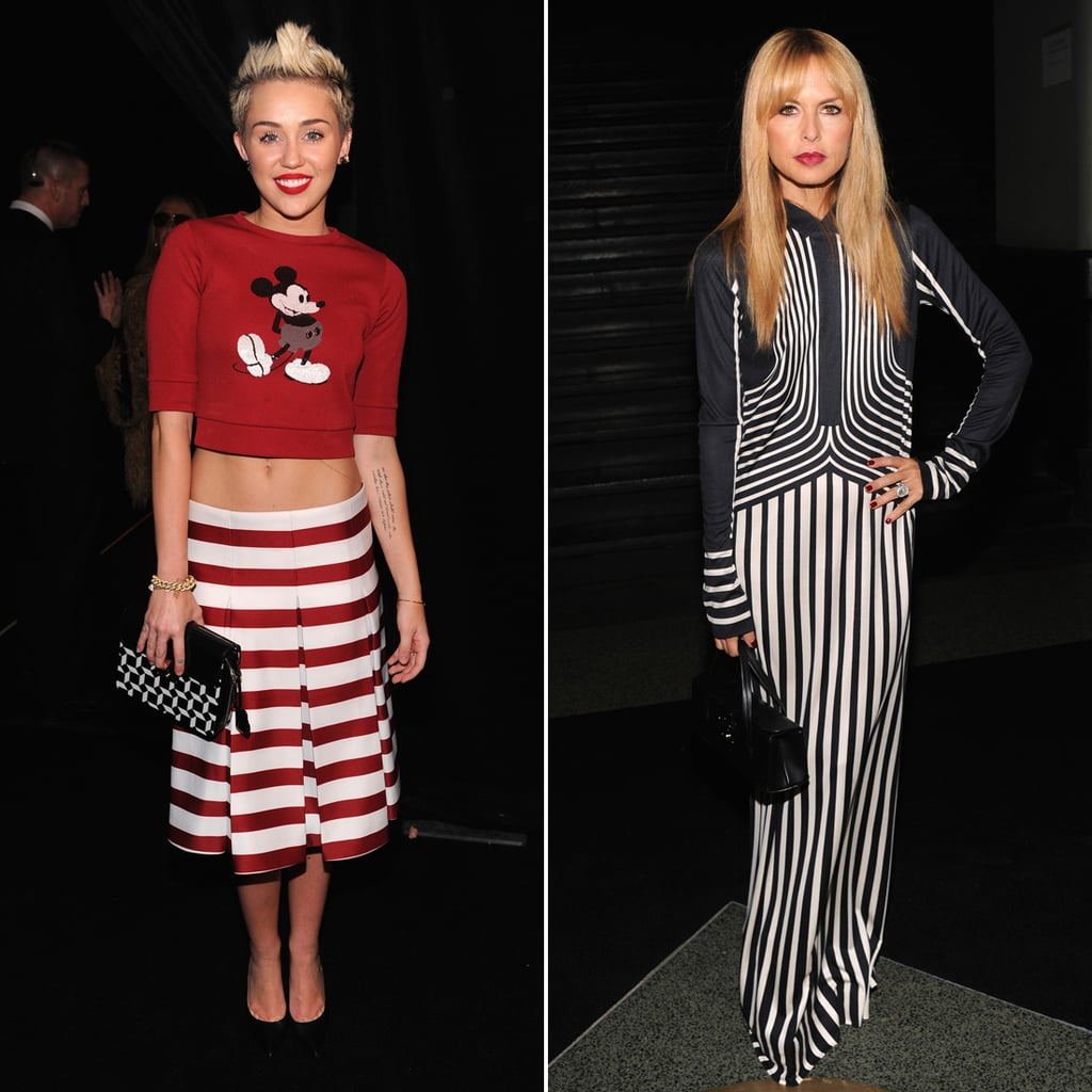 Celebrities at Marc Jacobs Fashion Show | Pictures