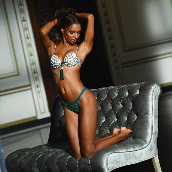 Victoria's Secret Images of Jasmine Tookes's Stretch Marks