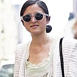 Perspex shades gave this lace look a modern update. Source: Adam Katz Sinding