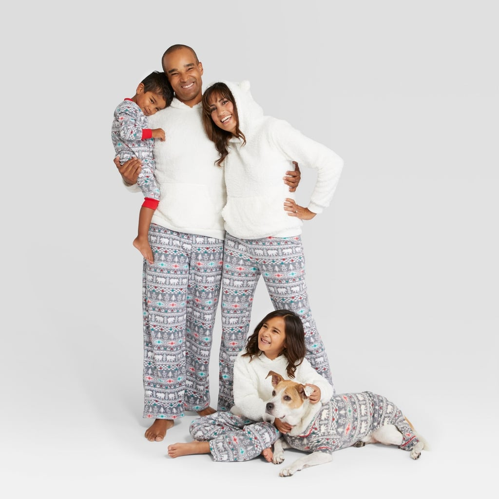 Holiday Fuzzy Bear Fair Isle Family Pajamas Collection  d61287125