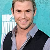 Chris Hemsworth smiled for the camera on the red carpet.