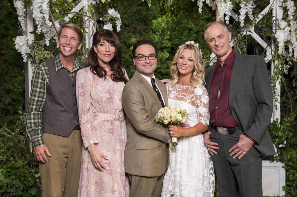 Penny's Wedding Dress on The Big Bang Theory