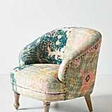 Rug-Printed Accent Chair