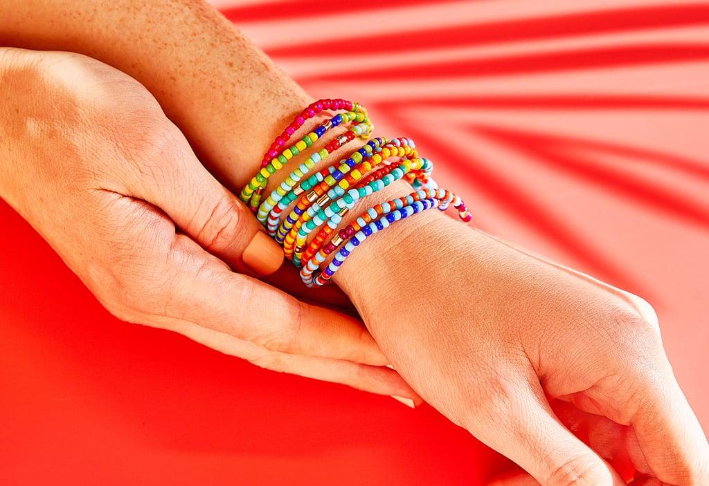 Roxanne Assoulin Patchwork Brite Set of 10 Bracelets