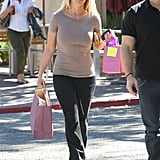 Britney Spears stepped out with her bodyguard in Calabasas.