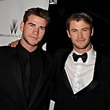 In January 2011, Liam and Chris Hemsworth suited up for The Weinstein Company's Golden Globes afterparty.