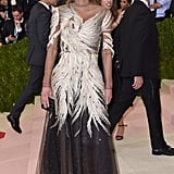 Queen Rania of Jordan at the 2016 Met Gala