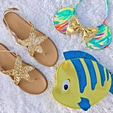 Ariel Sandals — Yellow Gold