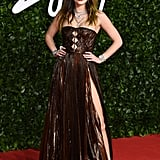 Bella Thorne at the British Fashion Awards 2019 in London