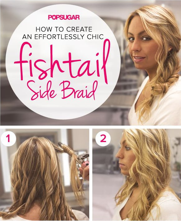 Hot on Pinterest: A Fishtail Braid Tutorial and DIY Hair Masks