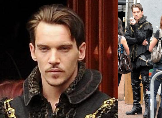 Photos Of Jonathan Rhys Meyers Filming The Tudors Season Three