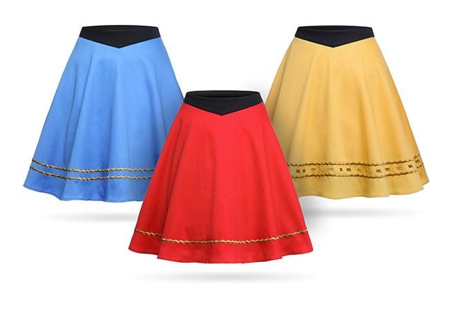 Star Trek TOS Uniform Skirt — Gold