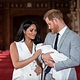 Prince Harry and Meghan Markle Baby Pictures