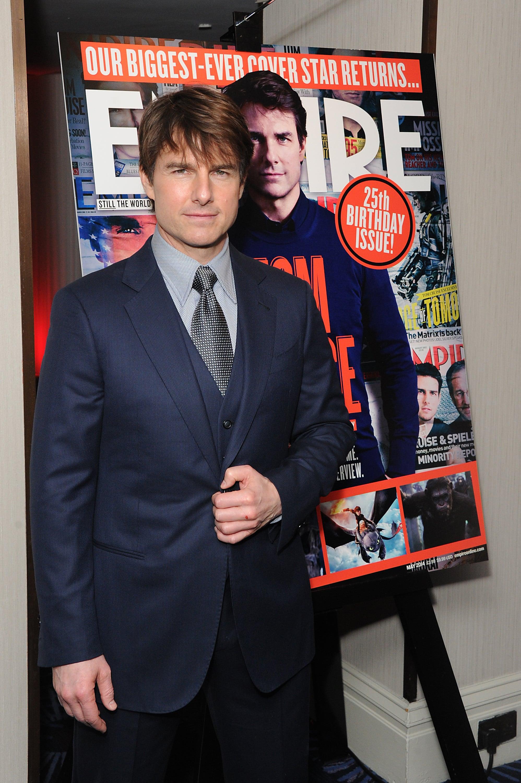 Tom Cruise Reemerges!