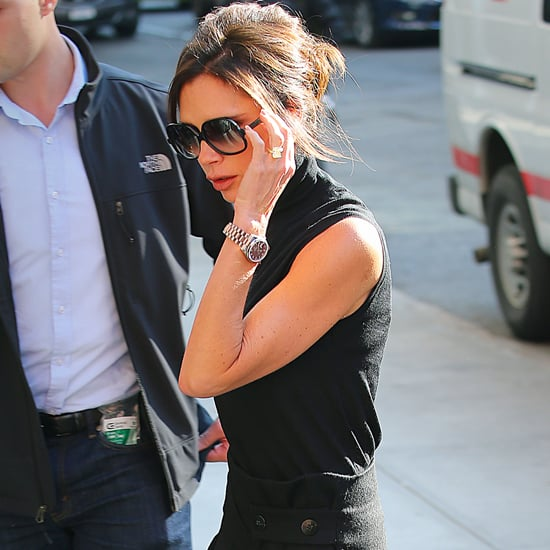 Victoria Beckham Wearing Sunglasses