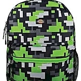 Printed Green Backpack