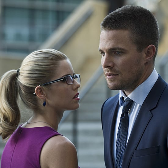 Arrow Felicity and Oliver GIFs