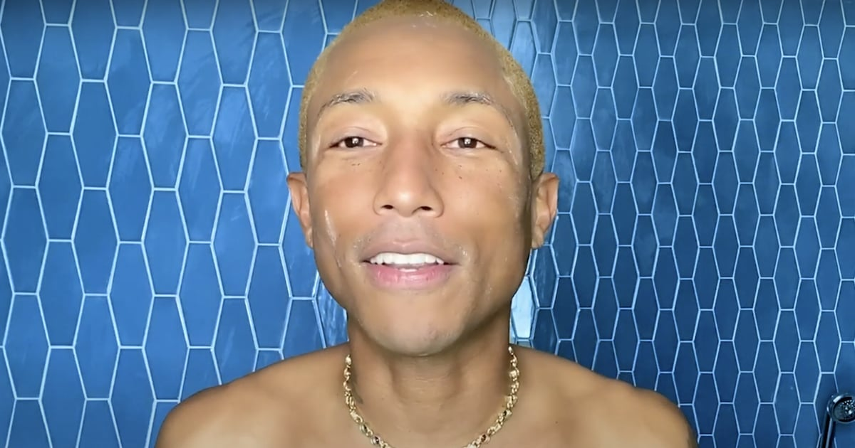 Pharrell's Skin-Care Routine Includes a Tip He Once Learned From Naomi Campbell