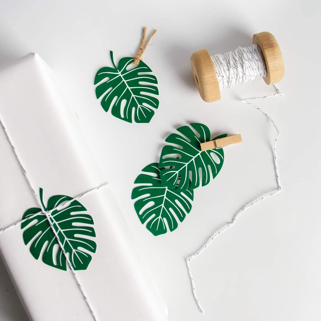 Palm Leaves Gift Tag