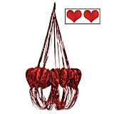 Heart Chandelier Hanging Decorations Set of Six