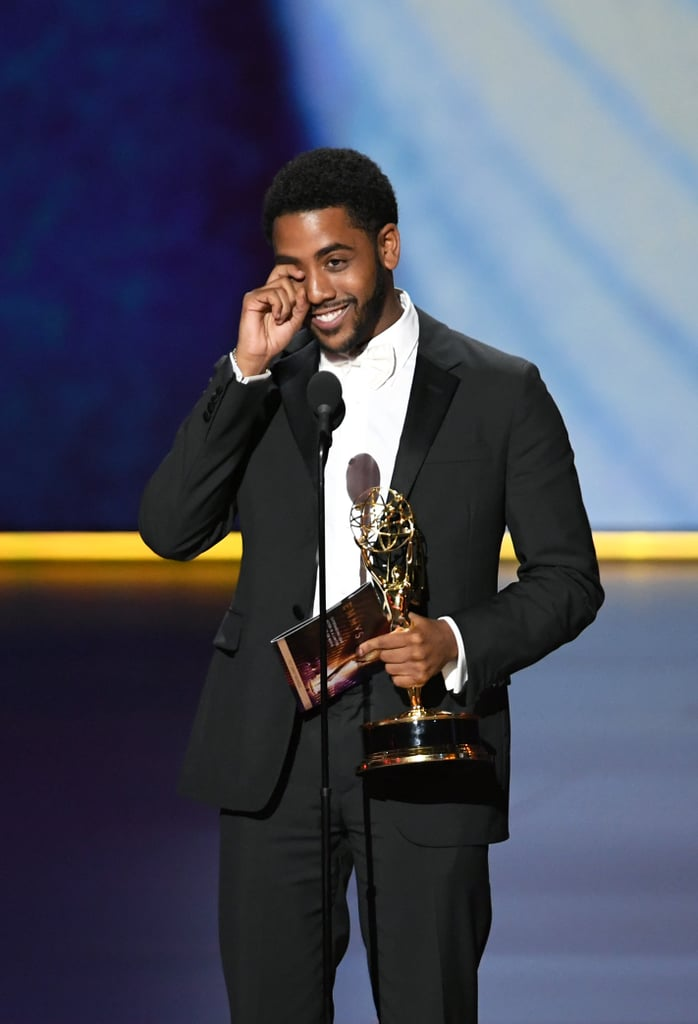 Jharrel Jerome at the 2019 Emmys