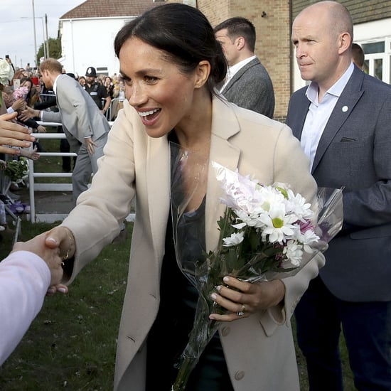 Meghan Markle Reacts to Fan Talking About Her Mum Oct. 2018