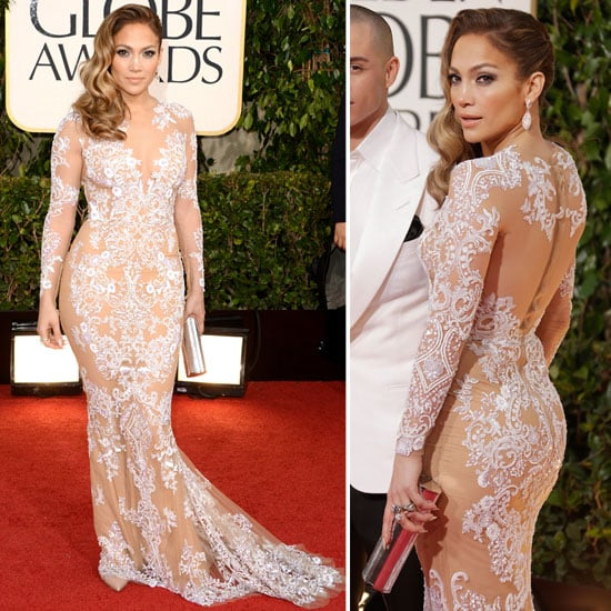 See Jennifer Lopez in Sheer Zuhair Murad 2013 Golden Globes