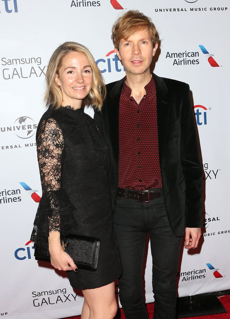 Beck Celebrated His Big Win With His Wife Marissa Ribisi