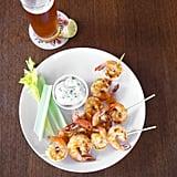 Buffalo Shrimp Skewers