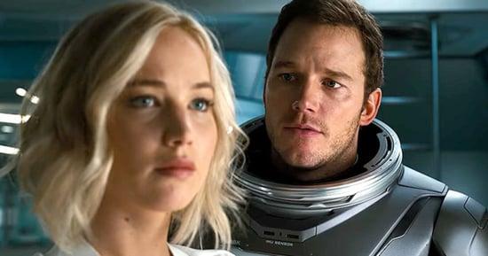 Jennifer Lawrence, Chris Pratt Share Passionate Kiss in 'Passengers' Trailer: Watch!