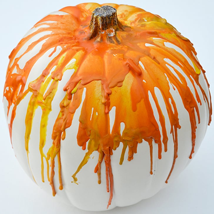no carve pumpkin ideas for kids from pinterest popsugar moms - Carving Pumpkin Ideas